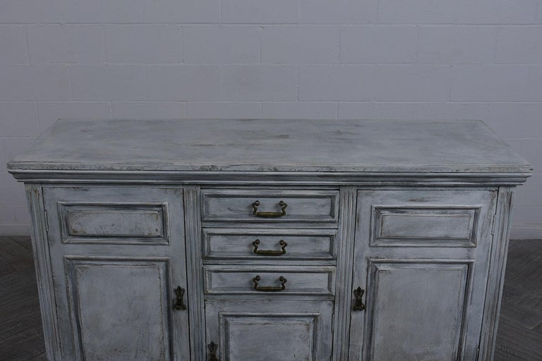 Antique Louis XVI Style Buffet In Good Condition For Sale In Los Angeles, CA