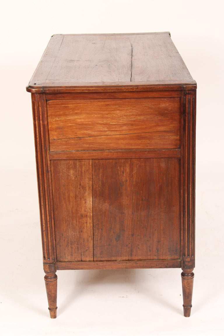 Antique Louis XVI Style Chest of Drawers In Fair Condition For Sale In Laguna Beach, CA