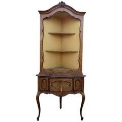 Antique Louis XVI Style Corner Étagère