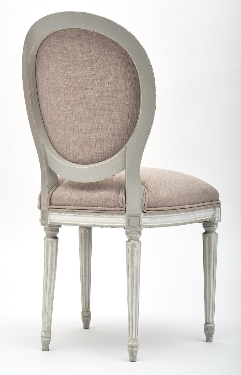 Antique Louis XVI Style Dining Chairs For Sale 1