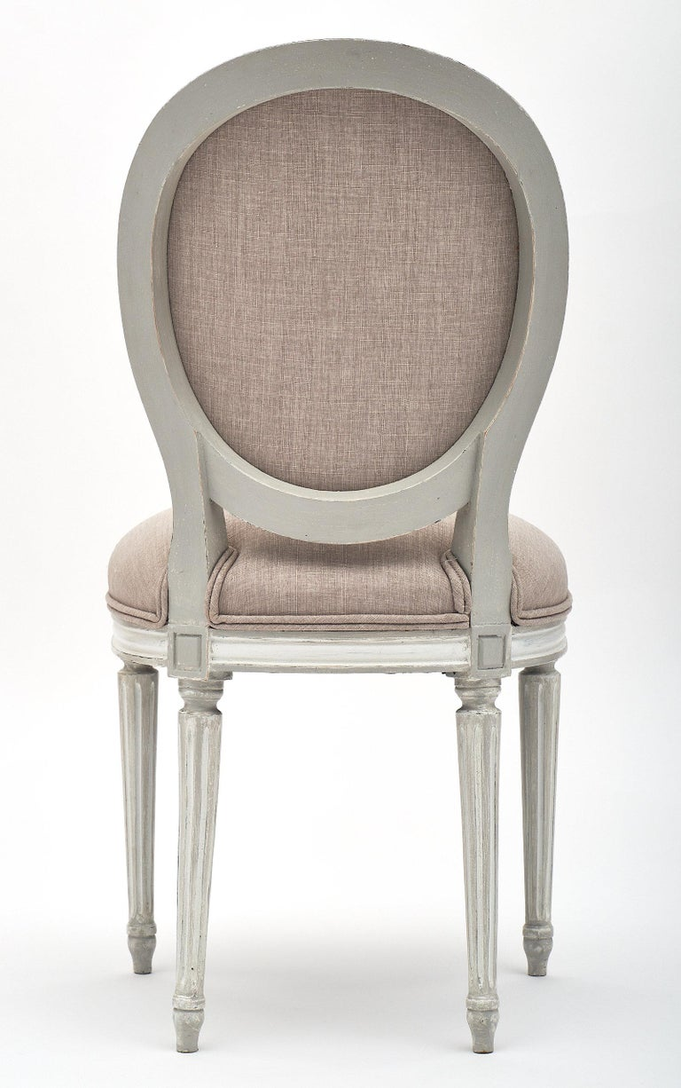 Antique Louis XVI Style Dining Chairs For Sale 2