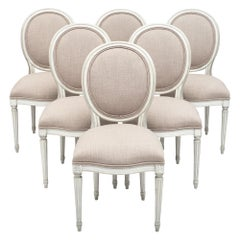 Antique Louis XVI Style Dining Chairs
