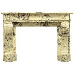 Antique Louis XVI Style Fireplace Mantel