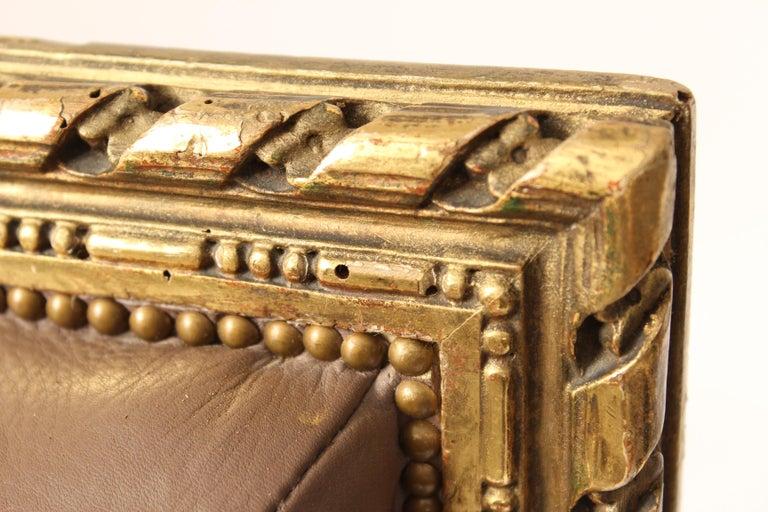 Antique Louis XVI Style Giltwood Armchair For Sale 7