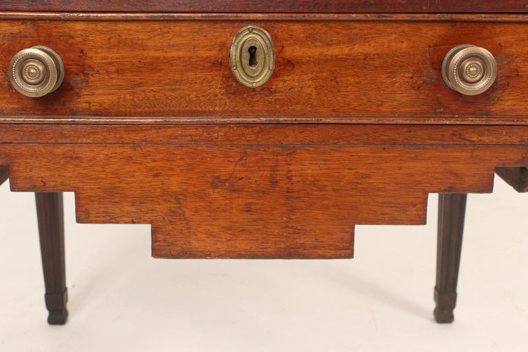 Antique Louis XVI Style Mahogany Occasional Commode For Sale 8