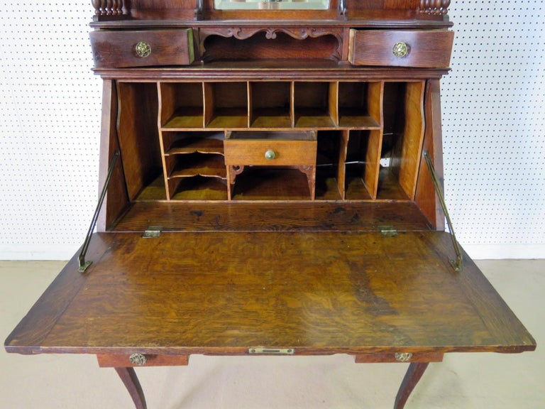 Antique Louis XVI Style Secretary Desk For Sale 2