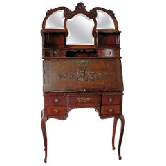 Antique Louis XVI Style Secretary Desk