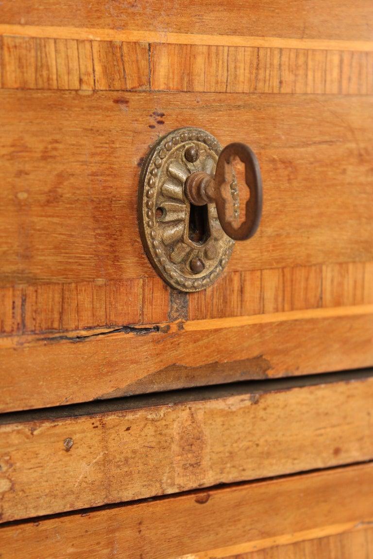 Antique Louis XVI Style Walnut Desk For Sale 6
