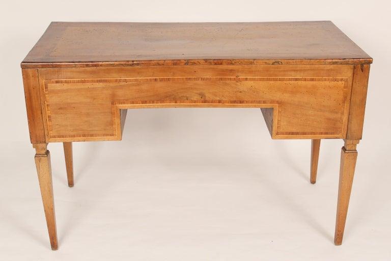 19th Century Antique Louis XVI Style Walnut Desk For Sale