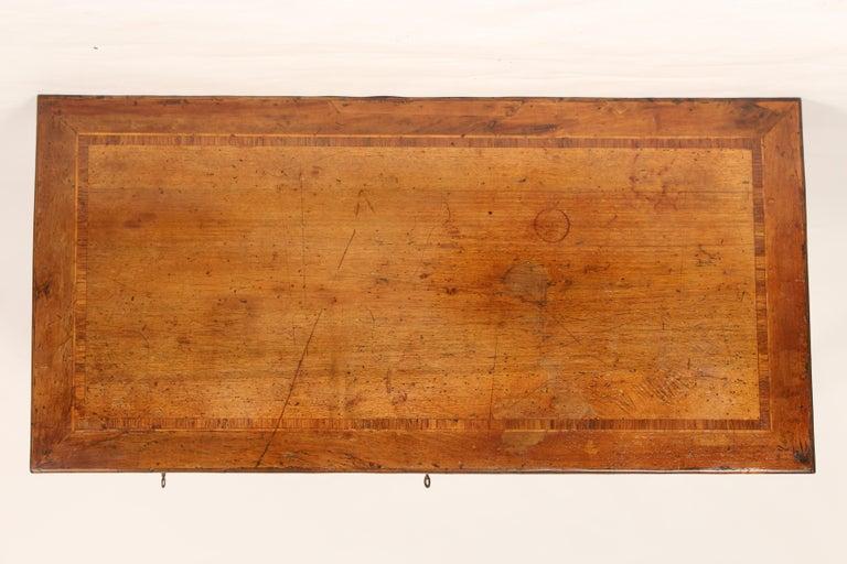 Antique Louis XVI Style Walnut Desk For Sale 1