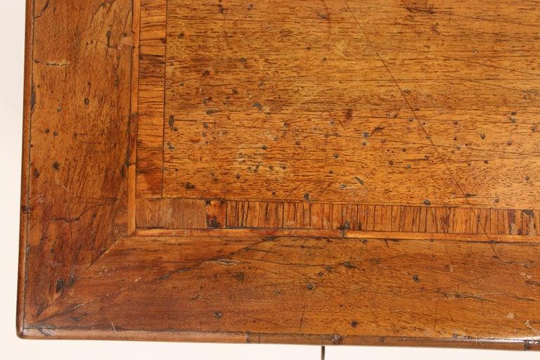Antique Louis XVI Style Walnut Desk For Sale 2