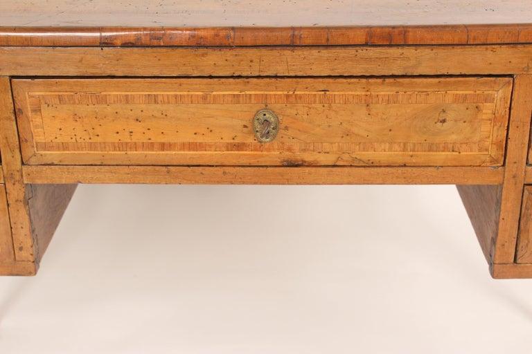 Antique Louis XVI Style Walnut Desk For Sale 4