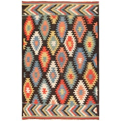 Antique Macedonian Kilim Rug