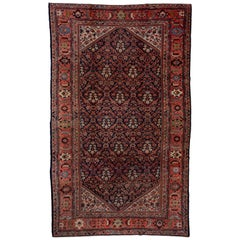 Antique Persian Tribal Farahan Carpet, Circa 1920s