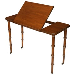Antique Mahogany Architect's Table