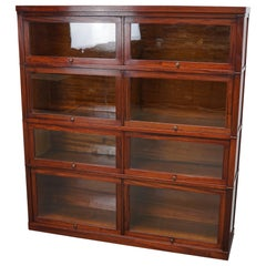 Antique Mahogany Bookcase by Macey, UK, 1930s