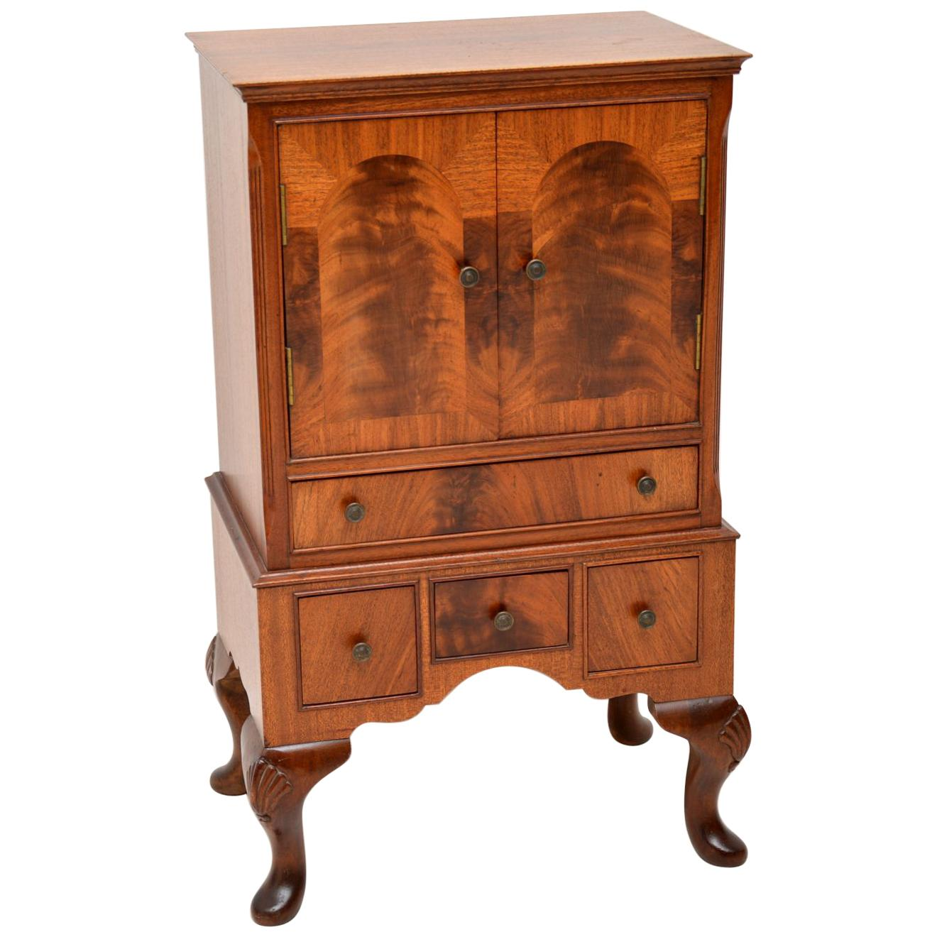 Antique Mahogany Cabinet / Glove Chest of Drawers