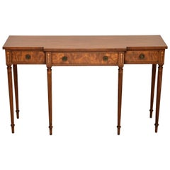 Antique Mahogany Console / Side Table