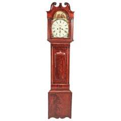 Antique Mahogany Eight Day Longcase Clock