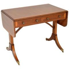 Antique Mahogany Regency Style Sofa Table
