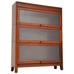 Antique Mahogany Stacking Bookcase