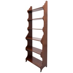 Antique Waterfall Book Case