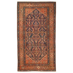 Antique Malayer Gallery-Size Rug Runner, circa 1900