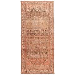 Antique Malayer Handmade Wool Runner