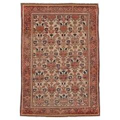 Antique Malayer Persian Rug, circa 1890, 4'3 x 6'2