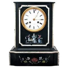 Antique Mantel Clock, F.L. Hausburg