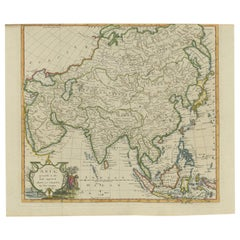 Antique Map of Asia by Conder, '1778'