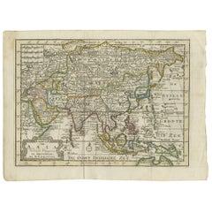 Antique Map of Asia by Keizer & de Lat, 1788