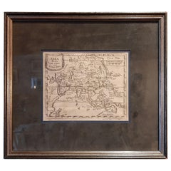 Antique Map of Asia 'circa 1739'