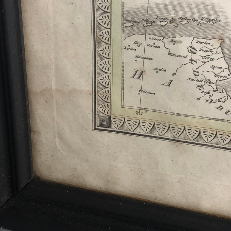 Antique Map of Denmark by C. F. Weiland, 1829 For Sale 12