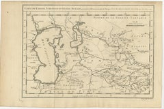 Antique Map of Khwarezm, Turkestan and Great Bukhara by Bellin (1749)