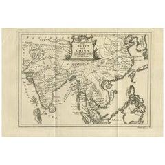 Antique Map of Southeast Asia by Van Dùren, 1752