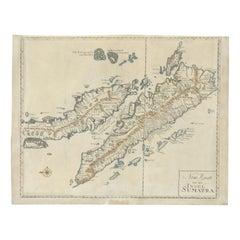 Antique Map of Sumatra 'c.1780'