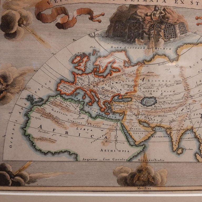 Antique Map of the Ancient World by Cellarius, 1703 In Good Condition For Sale In Langweer, NL