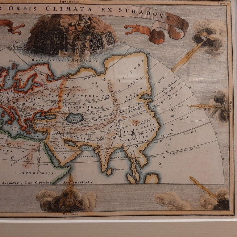 18th Century Antique Map of the Ancient World by Cellarius, 1703 For Sale