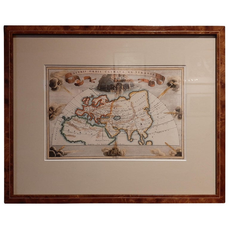 Antique Map of the Ancient World by Cellarius, 1703 For Sale