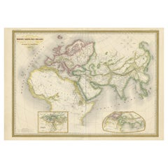 Antique Map of the Ancient World 'c.1860'