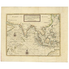 Antique Map of the East Indies by Moll '1745'