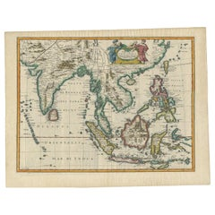 Antique Map of the East Indies by Speed '1676'