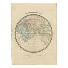 Antique Map of the Eastern Hemisphere by Wyld '1845'