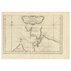 Antique Map of the Kara Strait by Bellin '1759'