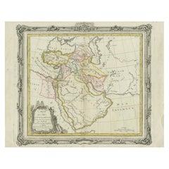 Antique Map of the Middle East by Brion de la Tour '1772'