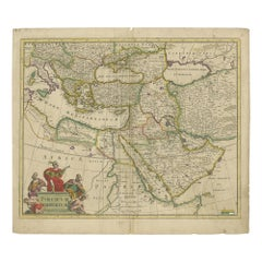Antique Map of the Turkish Empire by De Wit 'c.1700'