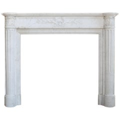 Beautiful 19th Century Antique Fireplace Mantel from Paris - France