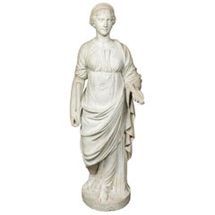 Antique, Marble Sculpture of Juno