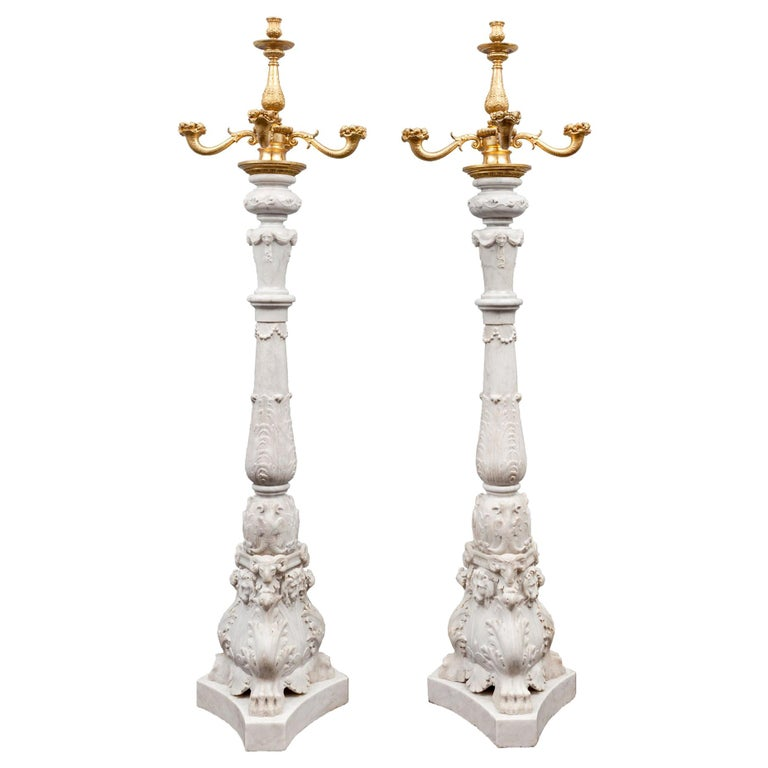 Antique Marble Toucheres For Sale